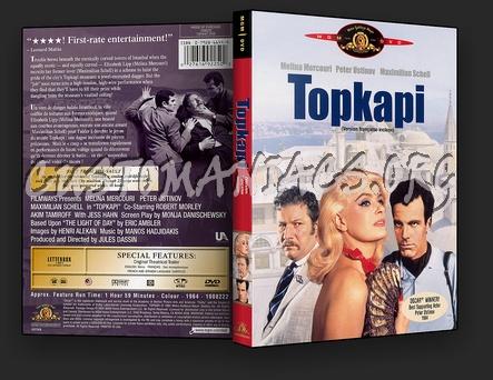 Topkapi dvd cover