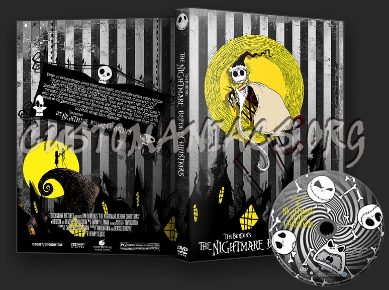 The Nightmare Before Christmas dvd cover