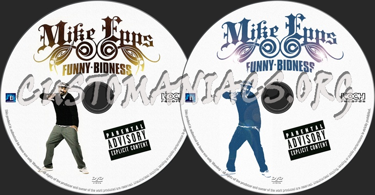 Mike Epps Funny Bidness dvd label