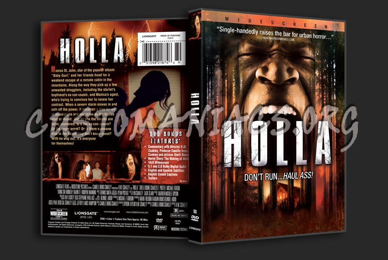 Holla dvd cover - DVD Covers & Labels by Customaniacs, id