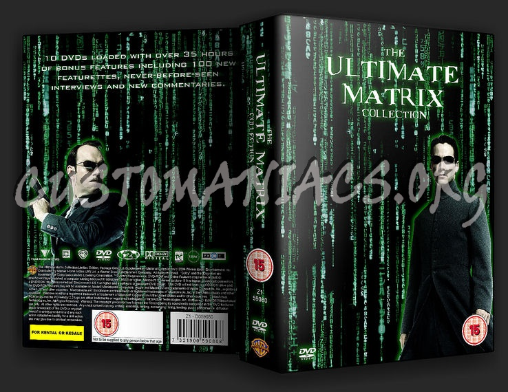 The Matrix Collection dvd cover