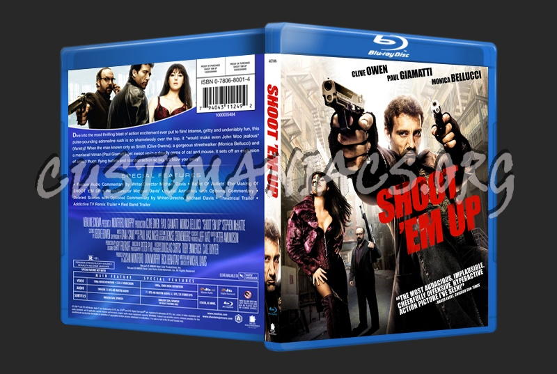 Shoot 'Em Up blu-ray cover