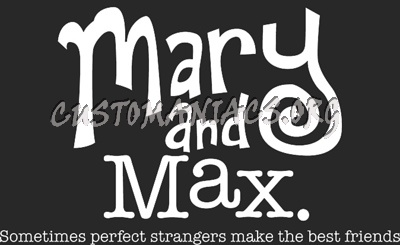 Mary And Max Dvd Covers Labels By Customaniacs Id 64250 Free Download Highres