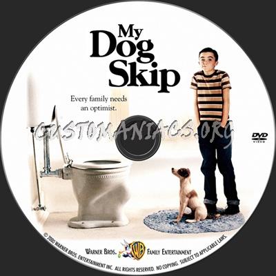 My Dog Skip dvd label