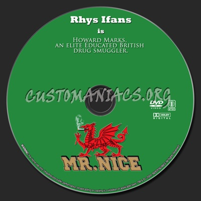 Mr. Nice dvd label