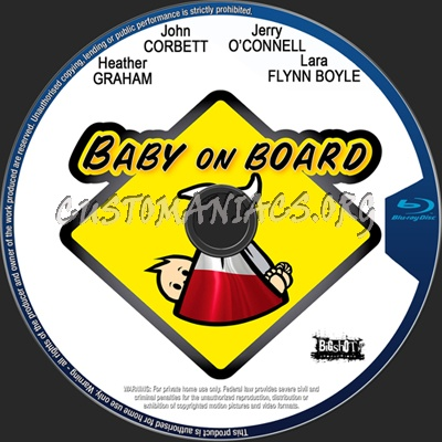 Baby on Board blu-ray label