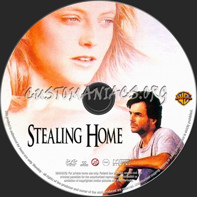 Stealing Home dvd label