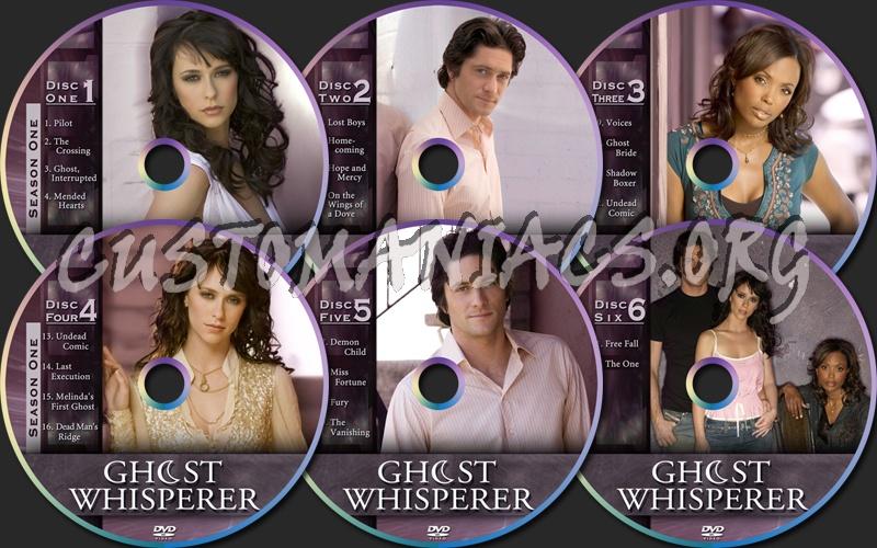 Ghost Whisperer Season 1 dvd label