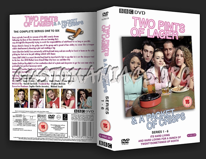 Two Pints Of Lager dvd cover