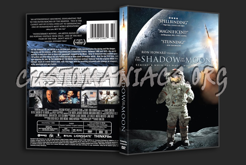 In the Shadow of the Moon dvd cover