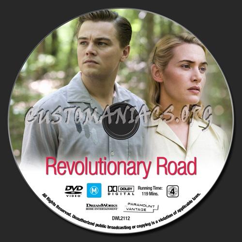 Revolutionary Road dvd label