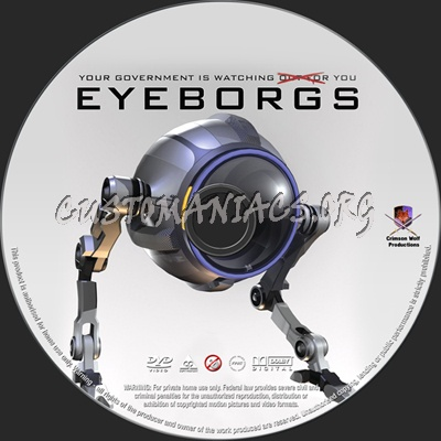 Eyeborgs dvd label