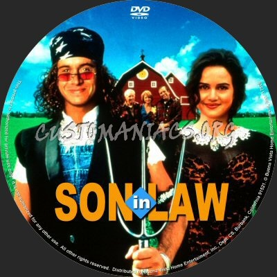 Son In Law dvd label