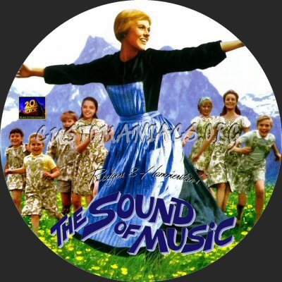 The Sound Of Music dvd label