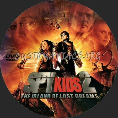 Spy Kids 2 dvd label