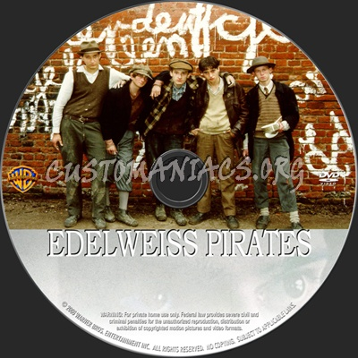 Edelweiss Pirates dvd label