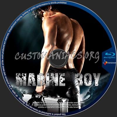 Marine Boy blu-ray label