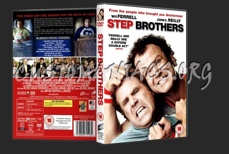 Step Brothers dvd cover