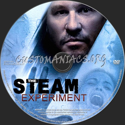 The Steam Experiment dvd label