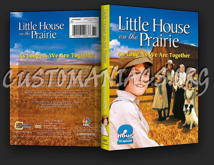 Little House on the Prairie: As Long as we are Together dvd cover