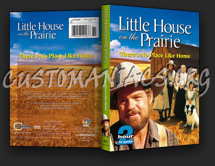 Little House on the Prairie: There's No Place Like Home dvd cover