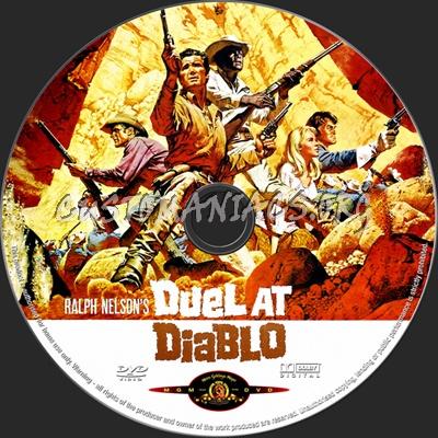 Duel at Diablo dvd label