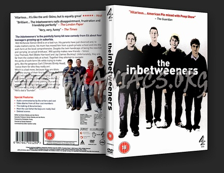 The Inbetweeners Season 1 dvd cover