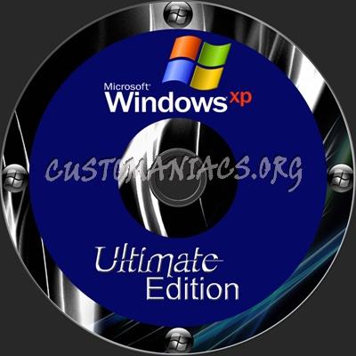 Windows XP Ultimate Edition dvd label