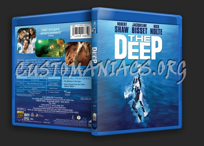 The Deep blu-ray cover