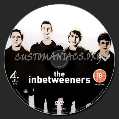 The Inbetweeners Season 1 dvd label