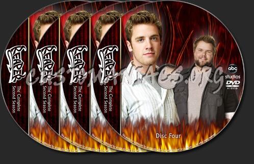 Reaper Season Two dvd label
