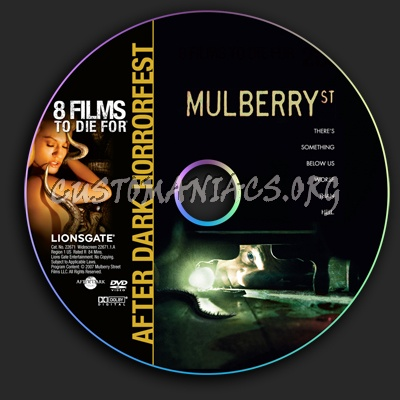 Mulberry St. dvd label