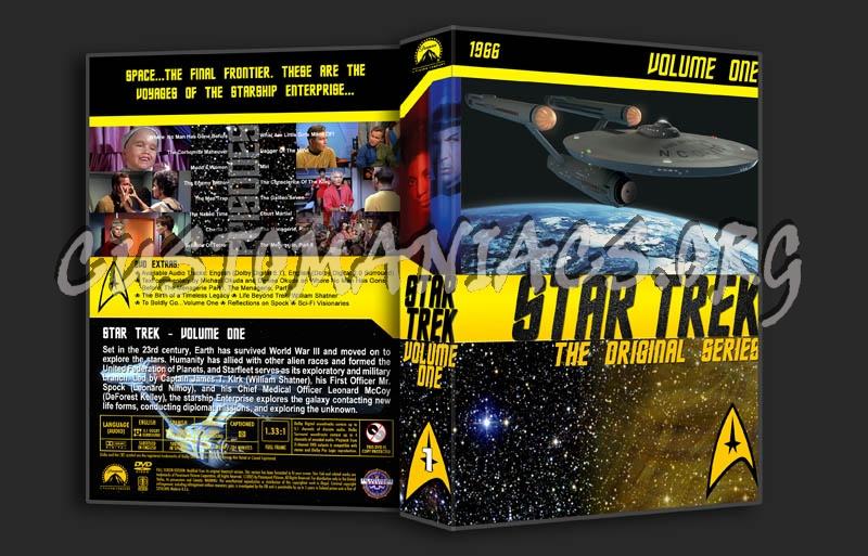 Star Trek TOS Volume 1 dvd cover
