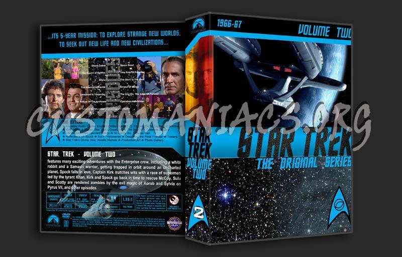 Star Trek TOS Volume 2 dvd cover