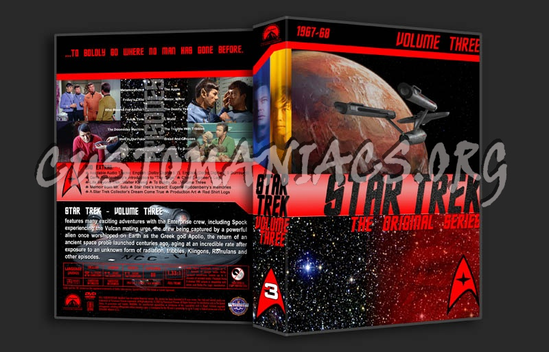 Star Trek TOS Volume 3 dvd cover