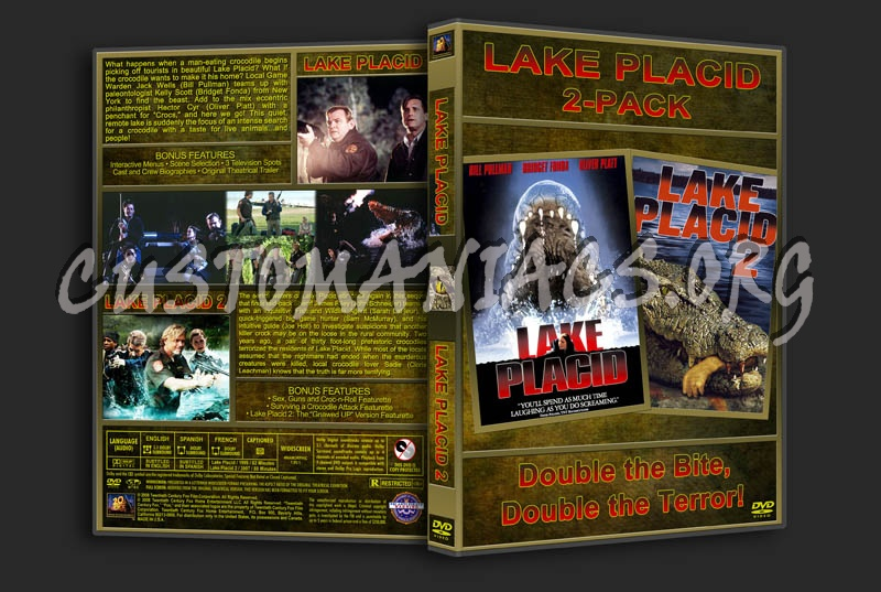 Lake Placid/Lake Placid 2 Double Feature dvd cover