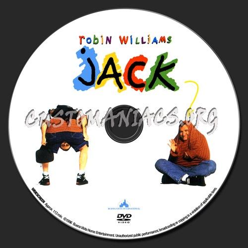 Jack dvd label
