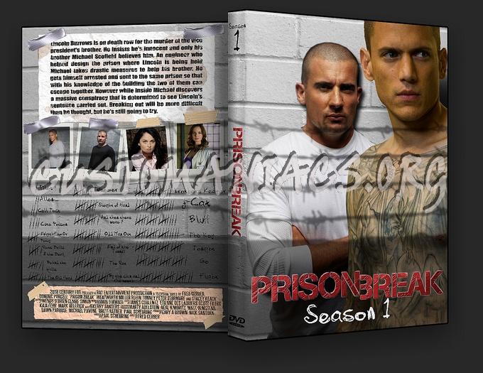 Prison Break 1 dvd cover