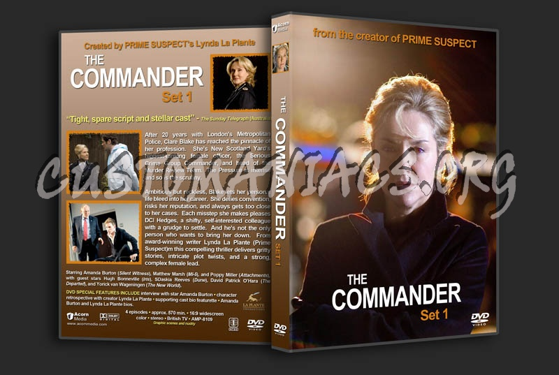 The Commander Set 1 dvd cover