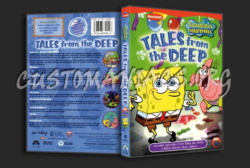 Spongebob Squarepants, Tales From The Deep dvd cover