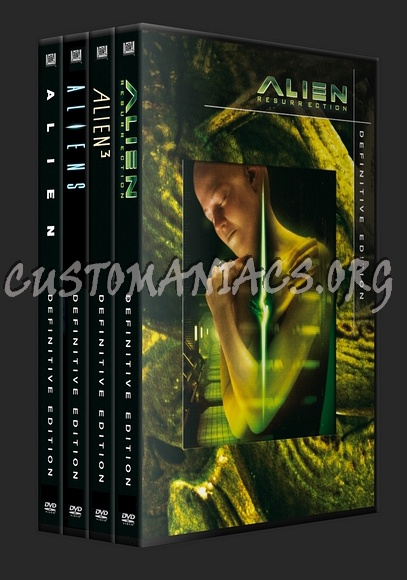 Alien Collection Definitive Edition dvd cover