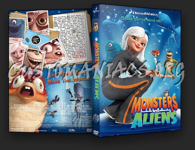 Monsters vs Aliens dvd cover - DVD Covers & Labels by ...