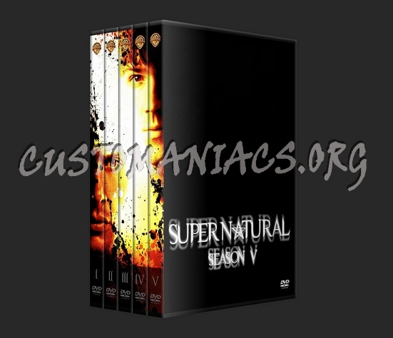 Supernatural dvd cover