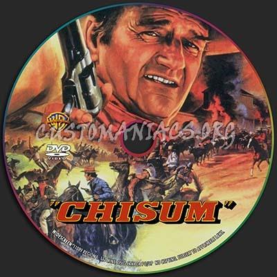 Chisum dvd label
