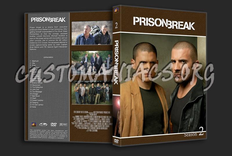Prison Break dvd cover