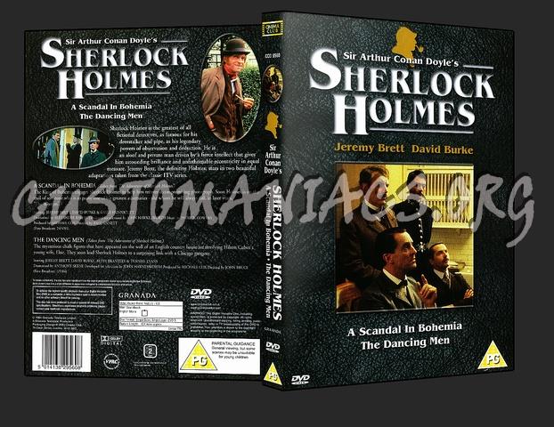 Sherlock Holmes A Scandal In Bohemia - The Dancing Man dvd cover