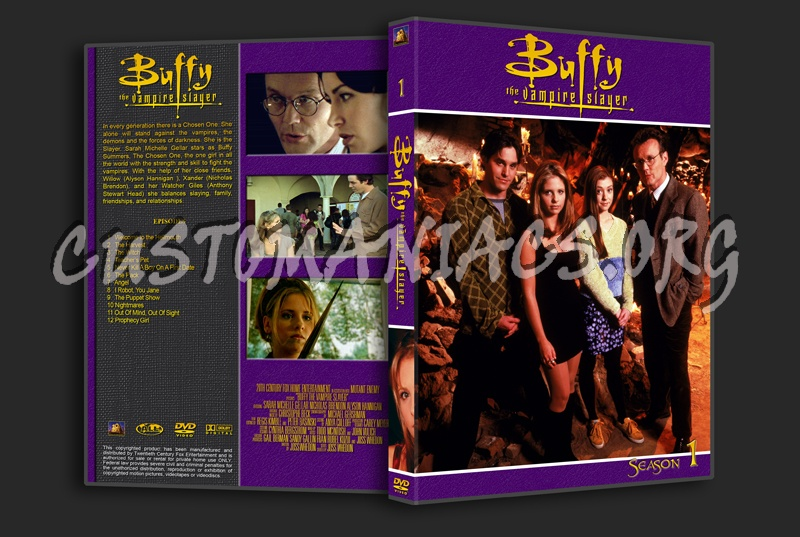 Buffy The Vampire Slayer dvd cover
