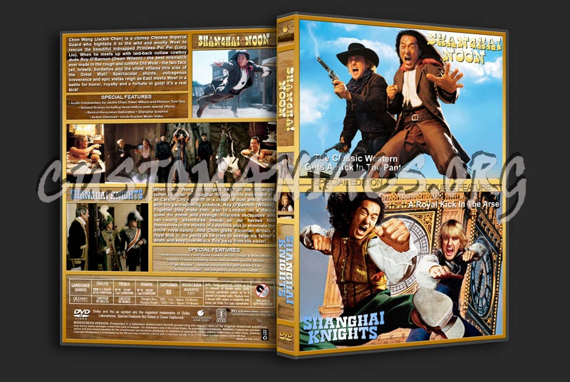 Shanghai Noon/Shanghai Knights Double Feature dvd cover