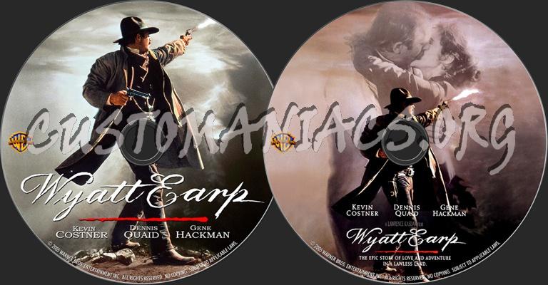 Wyatt Earp dvd label