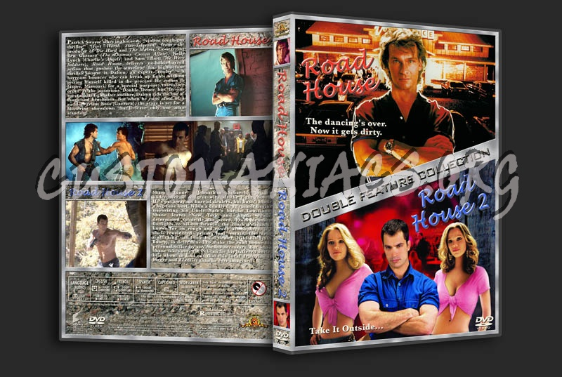Road House/Road House 2 Double Feature dvd cover